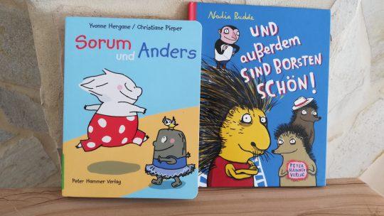 """""""Anders sein tut auch nicht weh"""" – Zwei Bücher über Vielfalt und Zufriedenheit mit sich selbst"""