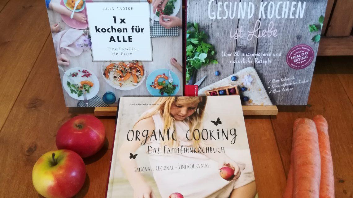 """""""Kinder! Kommt nörgeln, Essen ist fertig!""""- Drei Kochbücher für Familien"""