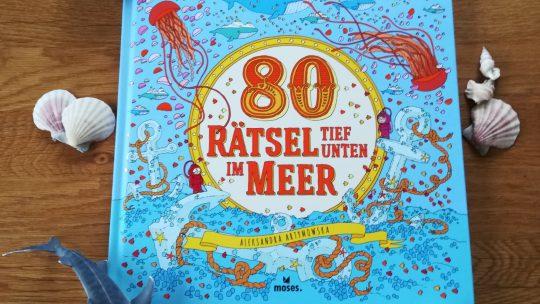 Spannendes Rätselbuch für Kinder ab 5: 80 Rätsel tief unten im Meer
