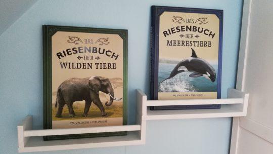 Das Riesenbuch der wilden Tiere und der Meerestiere