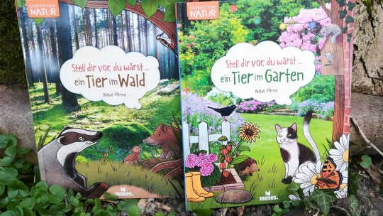"""""""Stell dir vor, du wärst… ein Tier im Wald/Garten"""" – Bärbel Oftring"""