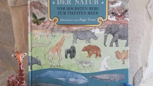 """""""Rekorde der Natur. Vom höchsten Berg bis zum tiefsten Meer"""" – Page Tsou"""