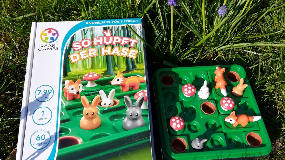 Logikspiel für Kinder: So hüpft der Hase – Smartgames