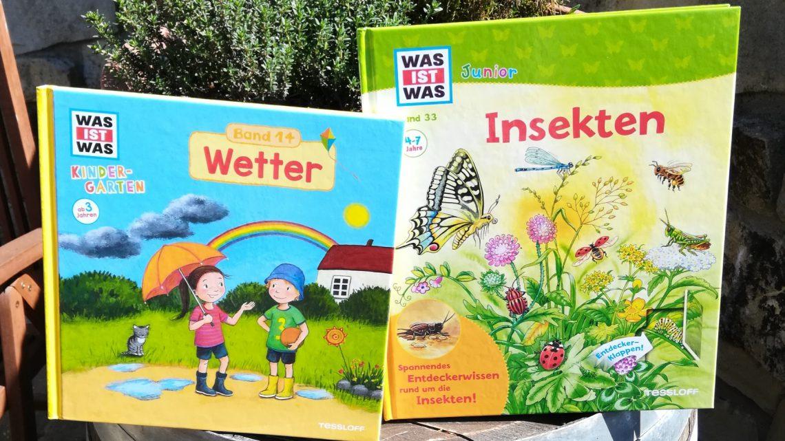 """Verlosung: """"WAS IST WAS Kindergarten: Wetter"""" und """"WAS IST WAS Junior: Insekten"""""""