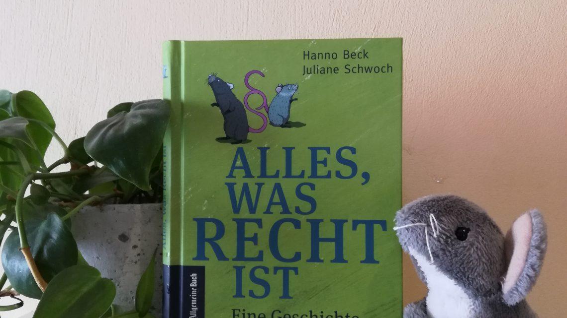 Verlosung: 70 Jahre Grundgesetz und das passende Kinderbuch dazu: Alles, was Recht ist. Eine Geschichte für kleine Juristen