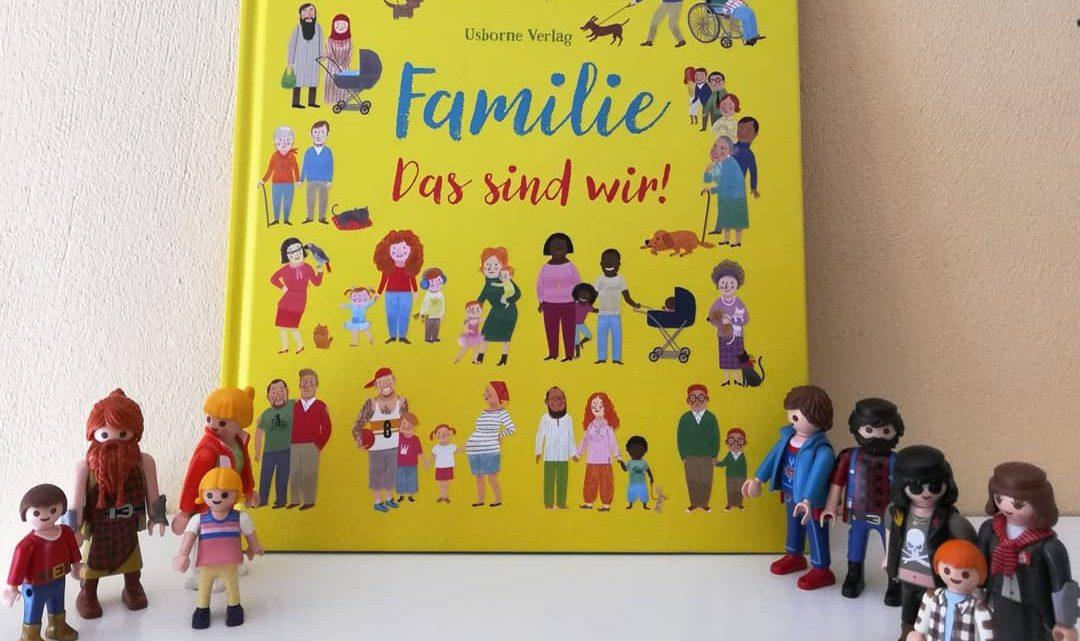 """""""Familie. Das sind wir!"""" – M. Ferrero, F. Brooks, F. Allen"""