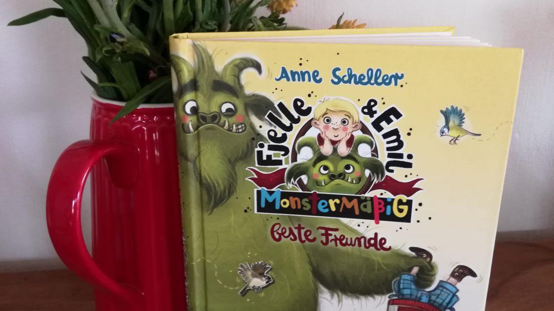 """""""Fjelle & Emil. Monstermäßig beste Freunde"""" – Anne Scheller"""