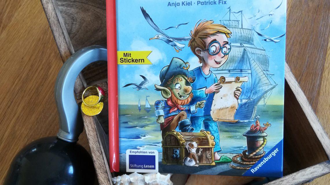 """Bücher für die Einschulung: """"Der Schatz des Kapitäns"""" – Anja Kiel, Patrick Fix"""