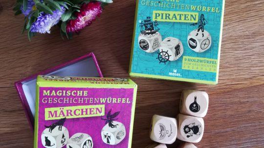 Geschenke für die Schultüte: Magische Geschichtenwürfel
