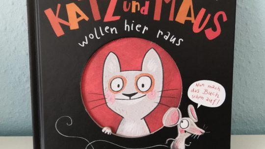 """Ein Mitmachbuch: """"Katz und Maus wollen hier raus"""" – Günther Jakobs"""
