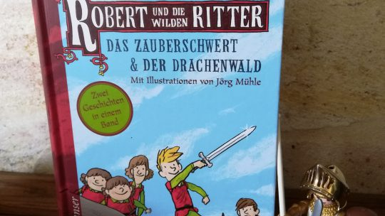 """Ferienlektüre:""""Robert und die wilden Ritter"""" – Anu Stohner, Jörg Mühle"""""""