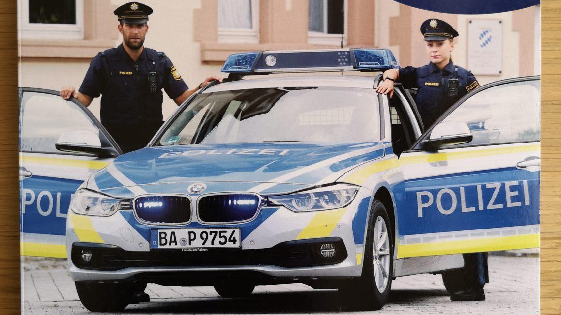 Polizei Bilderbuch mit echten Fotos