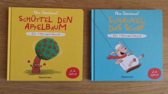 Mitmachbücher für Kleinkinder von Nico Sternbaum