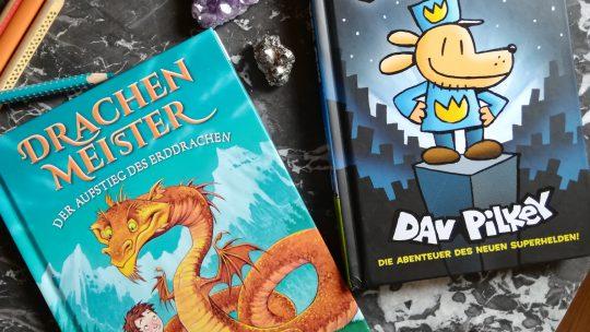 """Zwei Bücher, die """"Lesemuffel"""" begeistern werden: """"Drachenmeister"""" und """"Dogman"""""""
