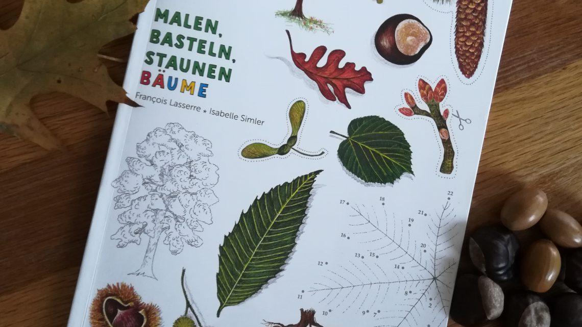 """Ein Mitmachbuch zum Herbst – """"Expedition Natur: Malen, Basteln, Staunen. Bäume"""""""