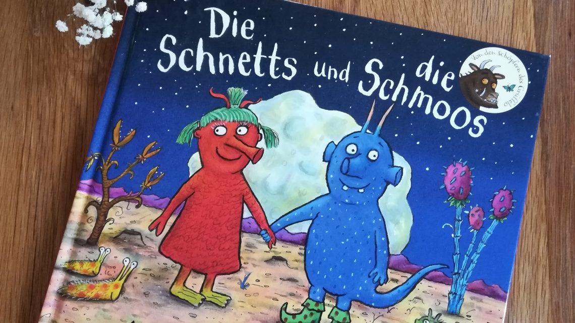 """Ein neues Buch von Axel Scheffler und Julia Donaldson – """"Die Schnetts und die Schmoos"""""""