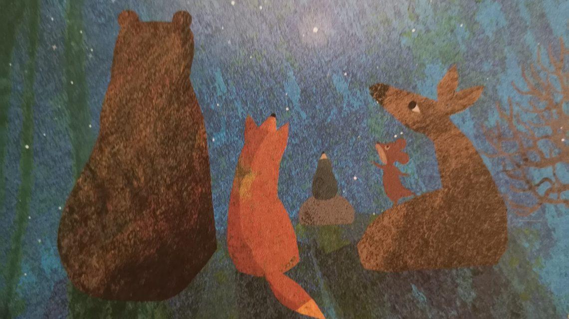 Der Maulwurf und die Sterne – Britta Teckentrup