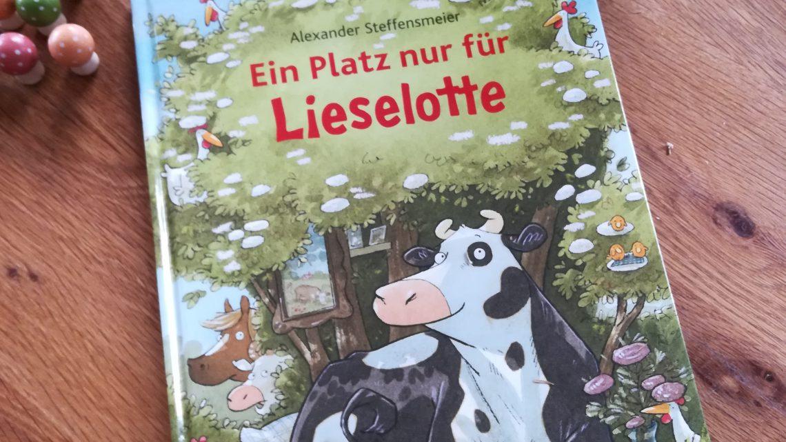 """Ein neues Lieselotte- Buch!""""Ein Platz nur für Lieselotte"""" – Alexander Steffensmeier"""