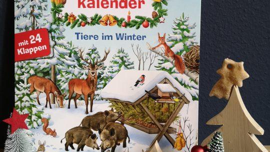 """Verlosung: """"Wieso weshalb warum: Mein Junior Adventskalender: Tiere im Winter"""""""