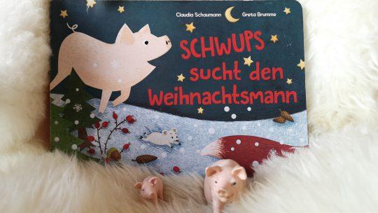 Schwups sucht den Weihnachtsmann – Claudia Schaumann
