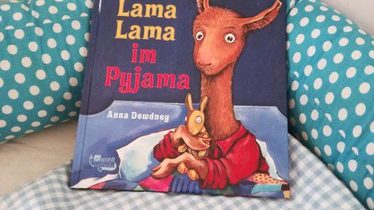 """Lama Lama im Pyjama"" – Anna Dewdney"