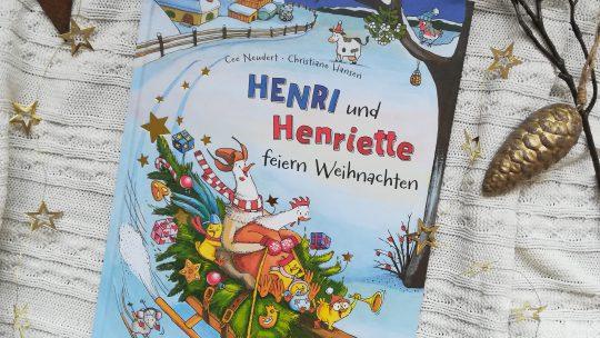 """""""Henri und Henriette feiern Weihnachten"""" – Cee Neudert, Christiane Hansen"""