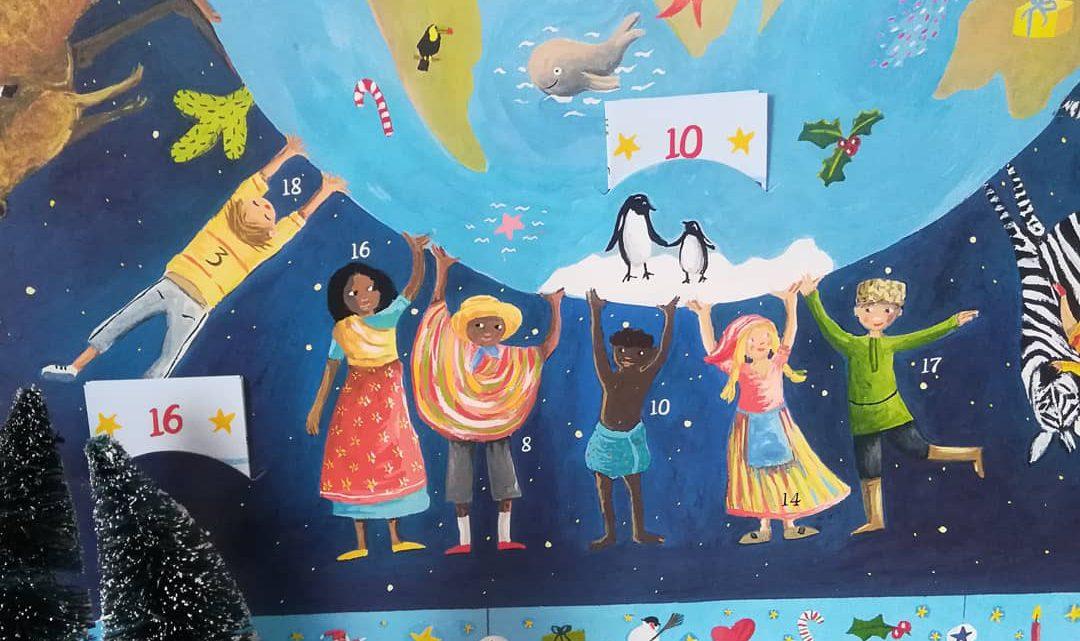 """Adventskalender für Grundschulkinder: """"Weihnachten bei den Kindern der Welt. Mit 24 Briefchen"""""""