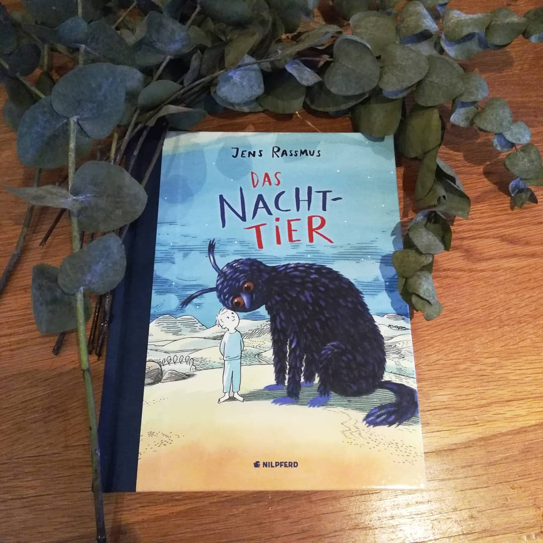 Das Nacht Tier Jens Rassmus Buchkinderblog