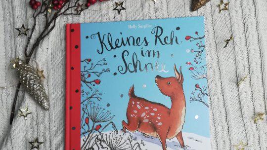 """Verlosung zum Vorleseadvent: """"Kleines Reh im Schnee"""" – Holly Surplice"""