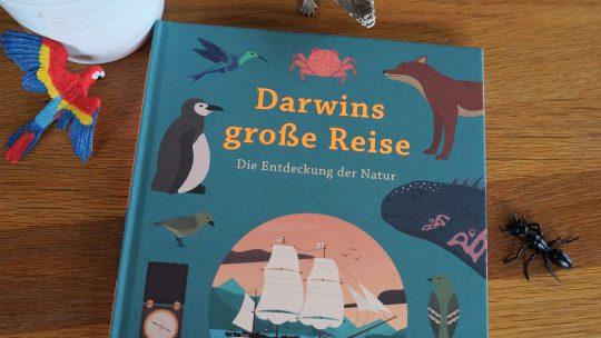 """Sachbuch für Grundschulkinder: """"Darwins große Reise. Die Entdeckung der Natur"""" – Jake Williams"""