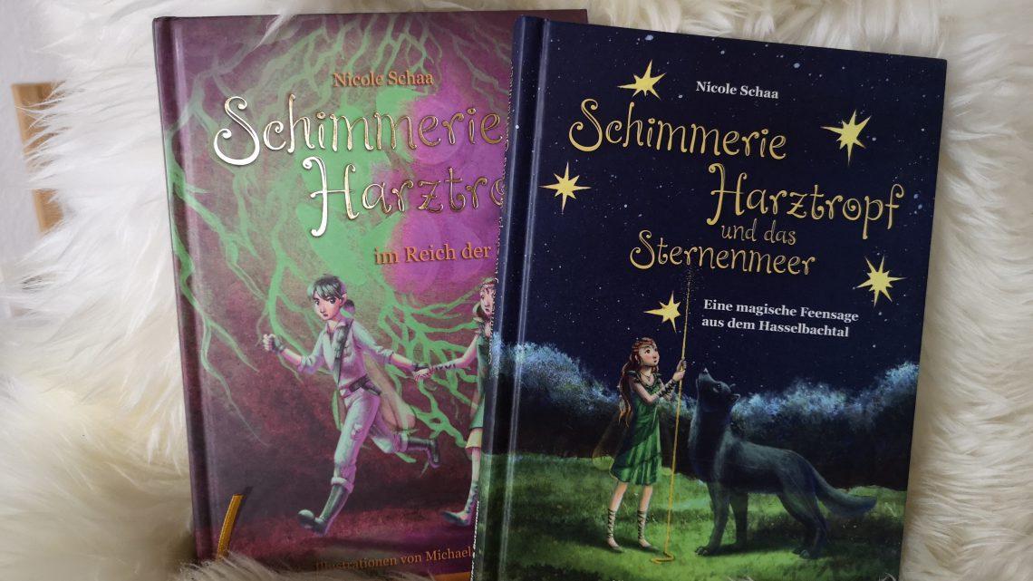 Schimmerie Harztropf – zwei magische Geschichten