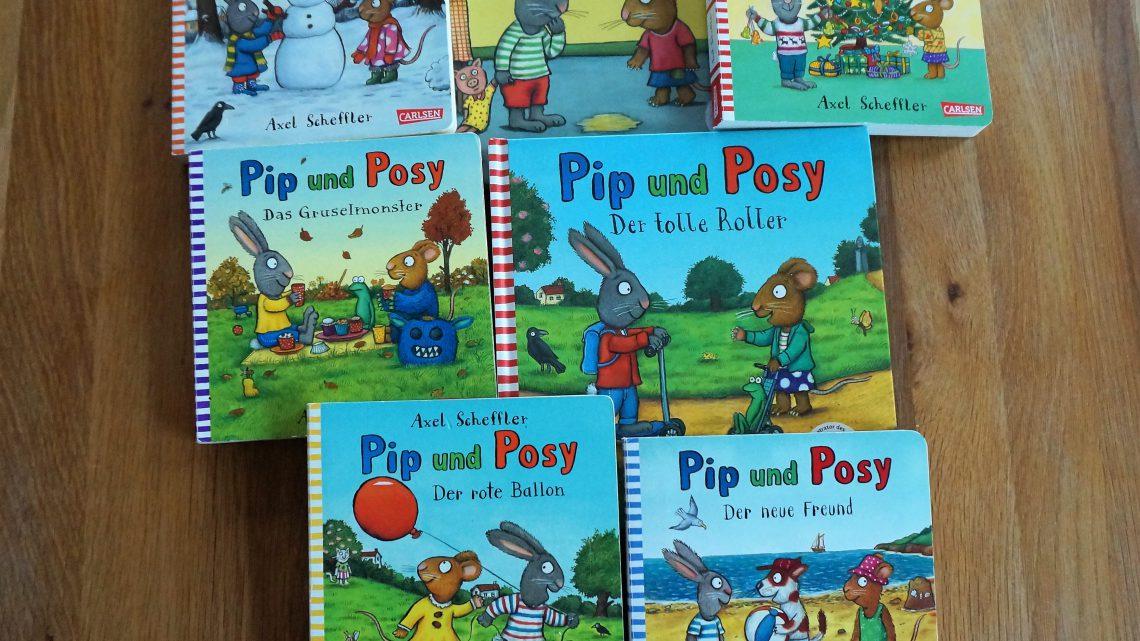 """Lieblingsbücher für Kleinkinder: """"Pip und Posy"""" von Axel Scheffler"""