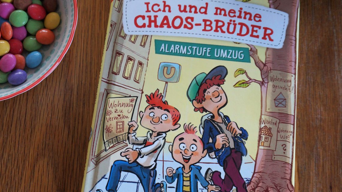 """""""Ich und die Chaos- Brüder. Alarmstufe Umzug"""" – Sarah Welk"""