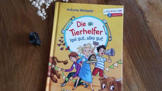 "Lesestarter 3: ""Die Tierhelfer. Igel gut, alles gut"" – Antonia Michaelis, Cathy Ionescu"