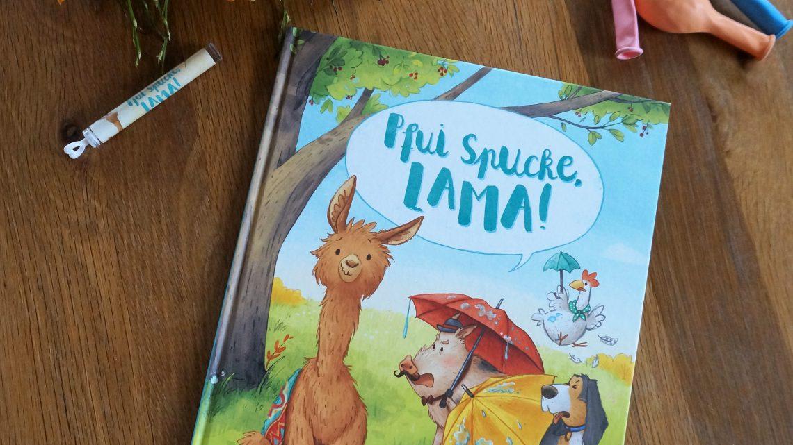 """""""Pfui Spucke, Lama!"""" – Katalina Brause, Carola Sieverding"""