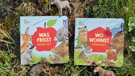 Kleine Tierbücher aus dem Kosmos Verlag