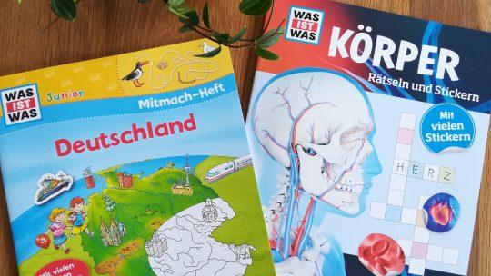 Wir bleiben zuhause! – Beschäftigungsbücher aus dem Tessloff Verlag