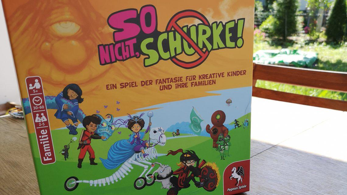 So nicht, Schurke! Ein spannendes Spiel für Familien