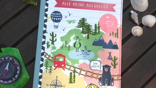 """Reisetagebuch für Kinder: """"Alle meine Abenteuer"""""""