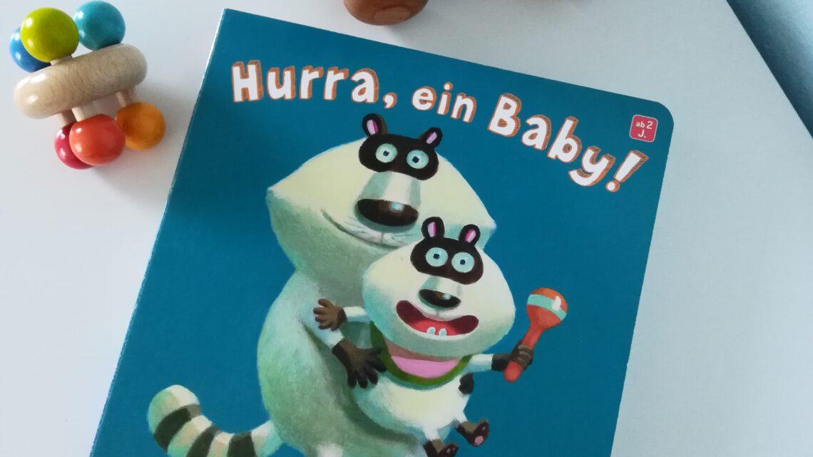 """Geschwisterbuch für die Kleinen: """"Hurra, ein Baby!"""""""