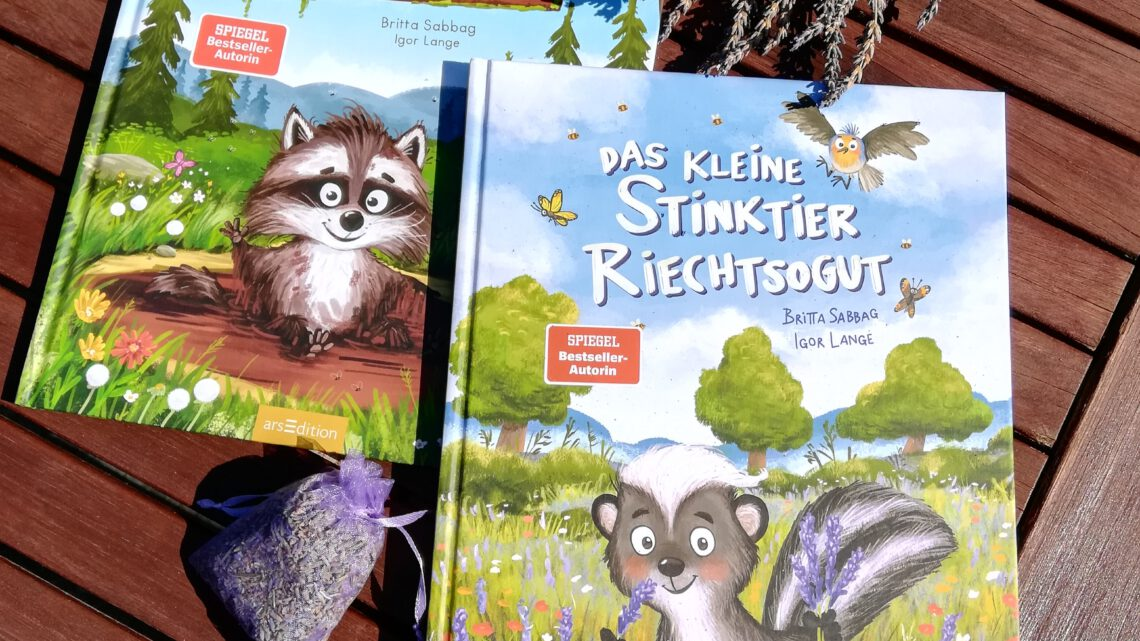"""Einfach liebenswert: """"Der kleine Waschbär Waschmichnicht"""" und """"Das kleine Stinktier Riechtsogut"""""""