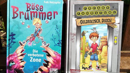 "Wie kann ich ""Lesemuffel"" zum Lesen motivieren? – ""Böse Brummer"" und ""Freaky Fahrstuhl"""
