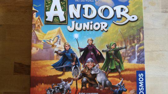 Andor Junior – ein spannendes Familienspiel