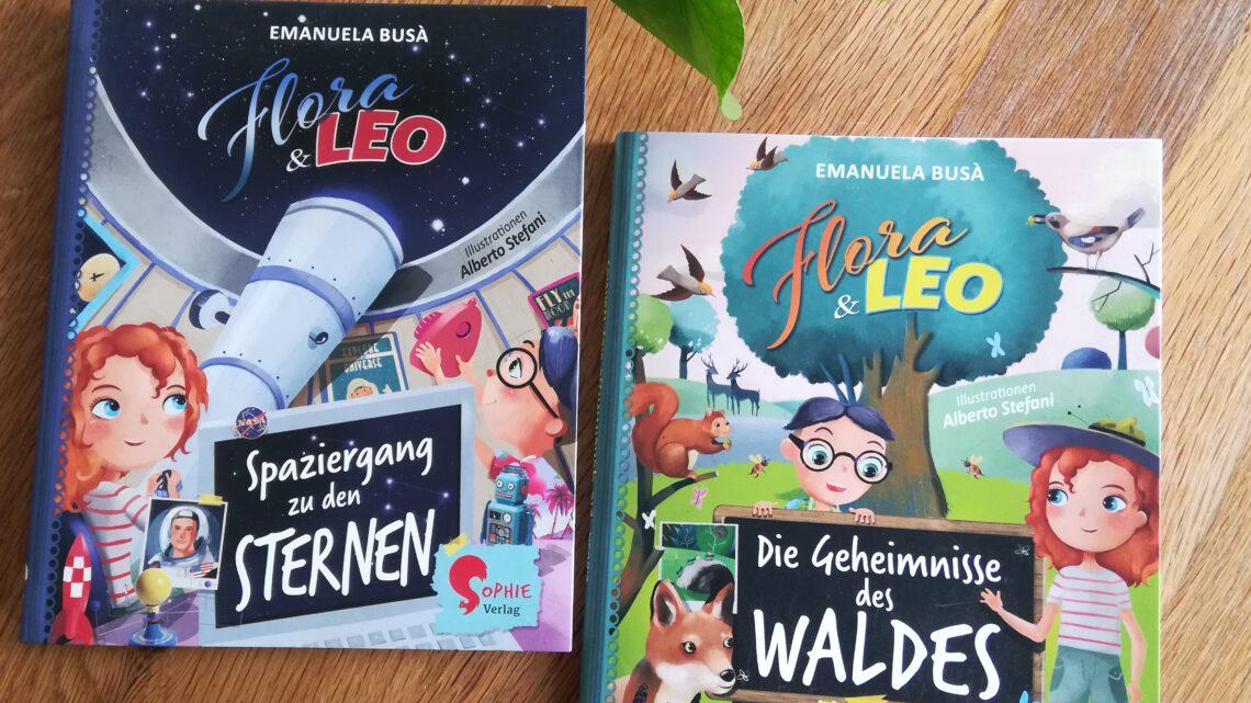 """""""Flora & Leo: Spaziergang zu den Sternen/Die Geheimnisse des Waldes"""" – Emanuela Busà"""