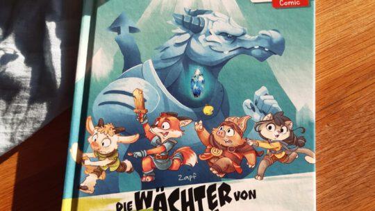 """Comics für Erstleser? Klar! -""""Die Wächter vom Tal. Der Winterkristall"""" – Zapf"""