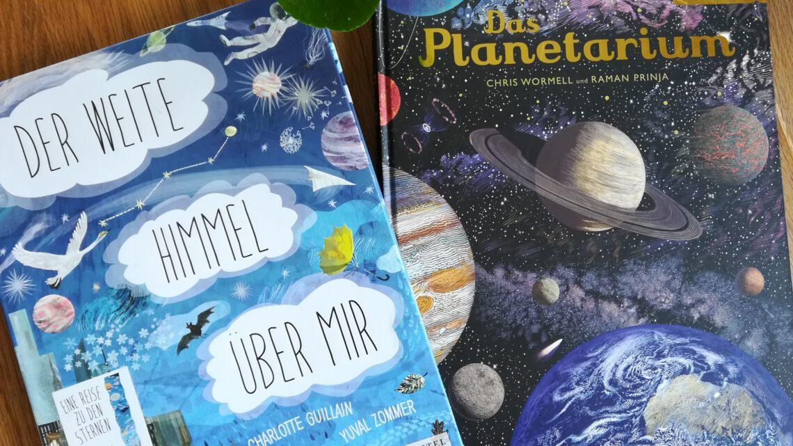 Immer wieder faszinierend: Kinderbücher zum Thema Weltraum