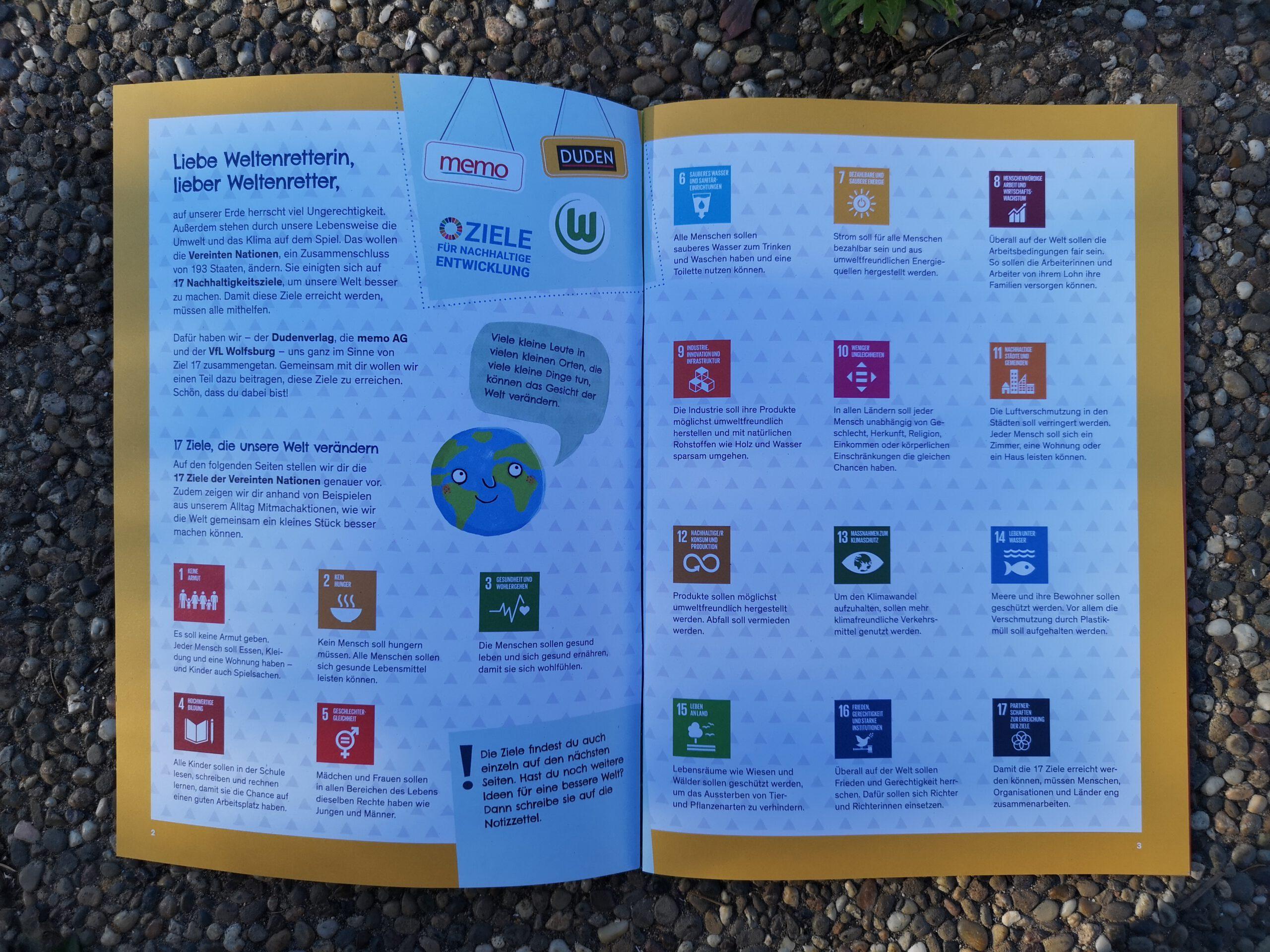 Bastel - und Beschäftigungsbücher: Nachhaltigkeitsziele