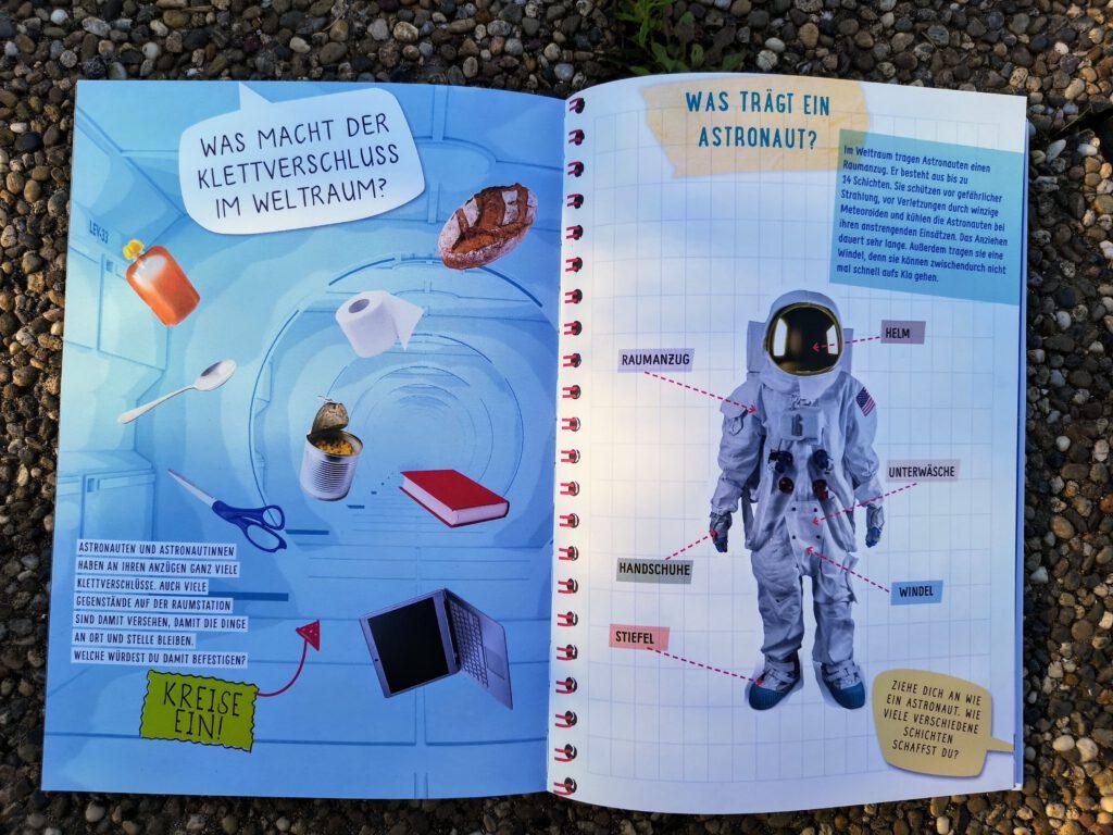 Seite zum Thema: Was tragen Astronauten?
