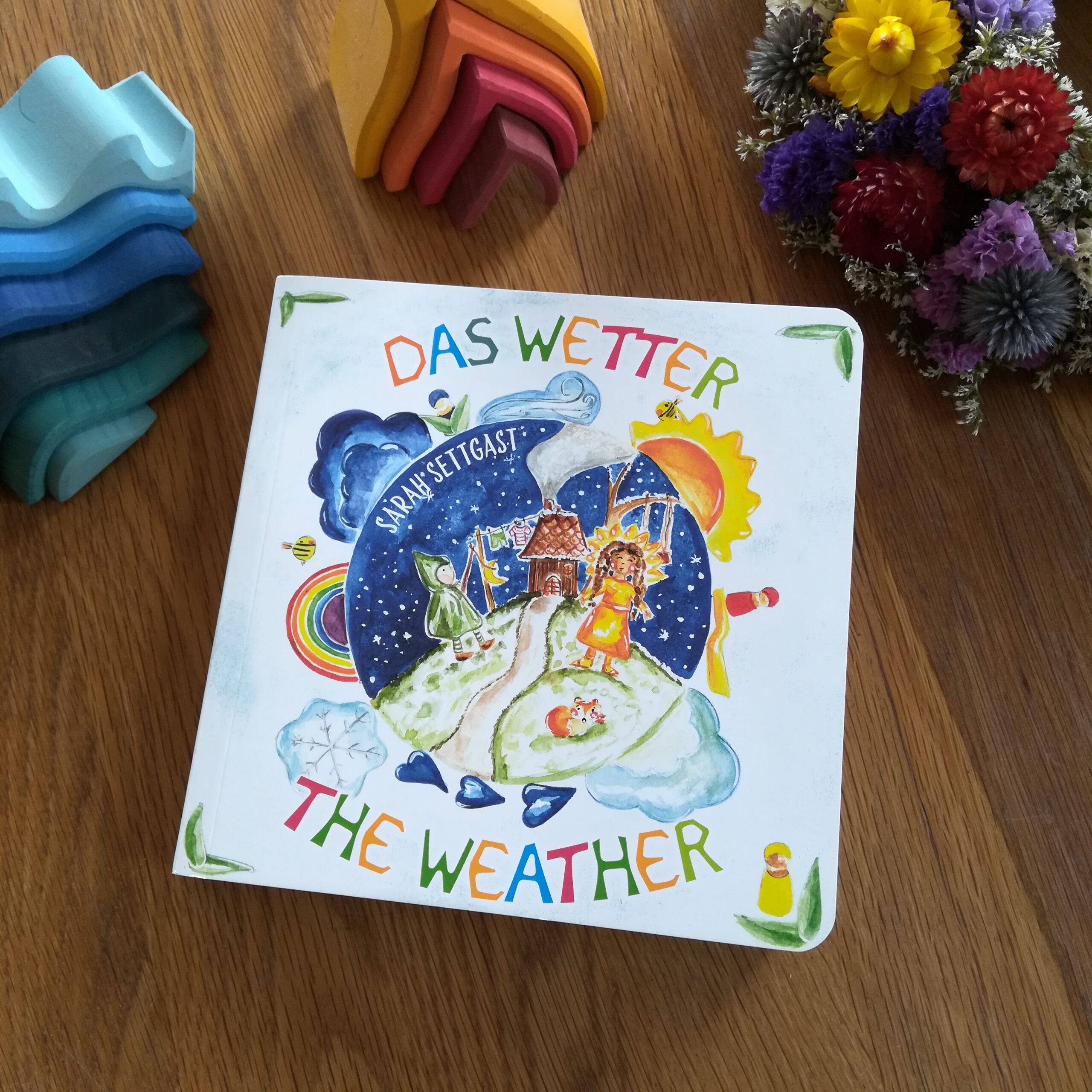 """Wunderschöne Pappbilderbücher für die Kleinen: """"Schneckbert liebt die Ruhe"""" und """"Das Wetter"""""""