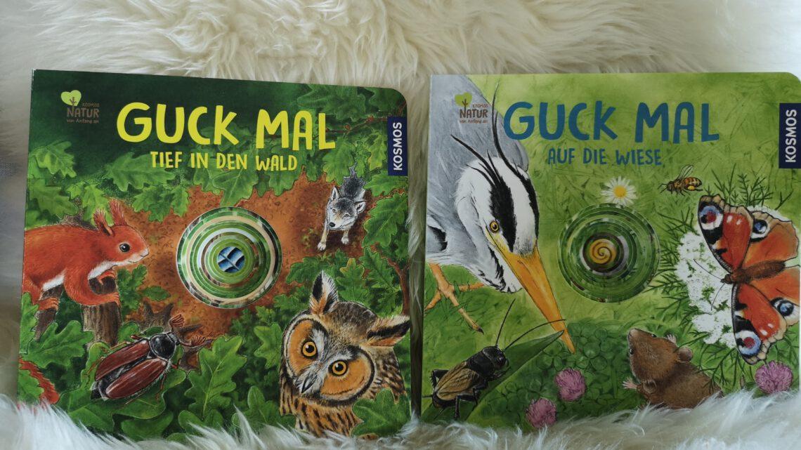 """Für kleine Naturentdecker – """"Guck mal auf die Wiese"""" und """"Guck mal tief in den Wald"""""""